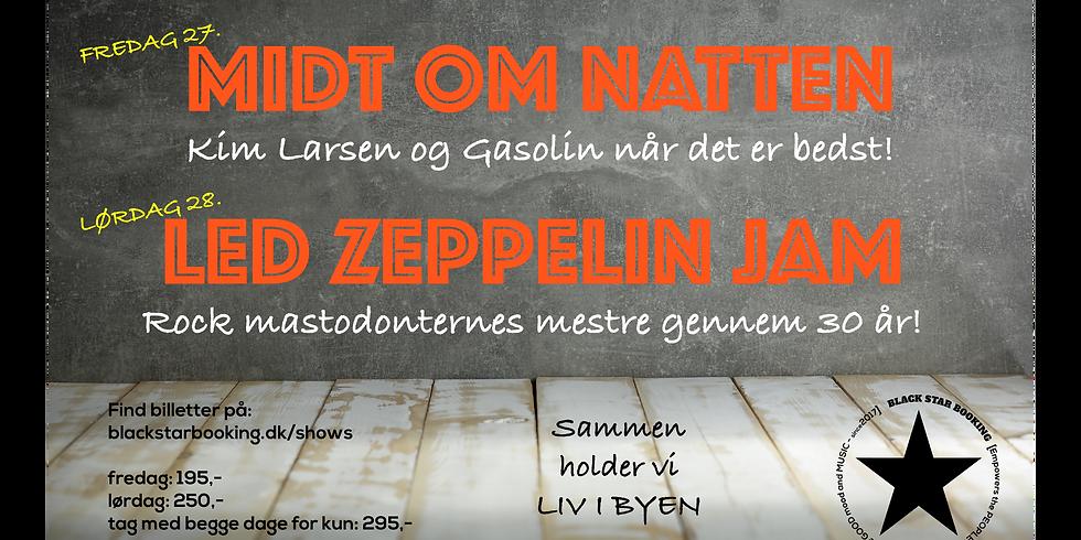 Kim Larsen og Led Zeppelin cover weekend