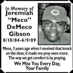 "Jeremiah ""Meco"" DeMeco Gibson"