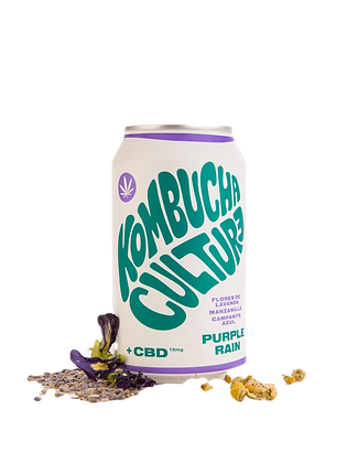 Kombucha Culture + CBD Purple Rain