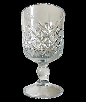Diamond Cut Cocktail Glass - Set of 2