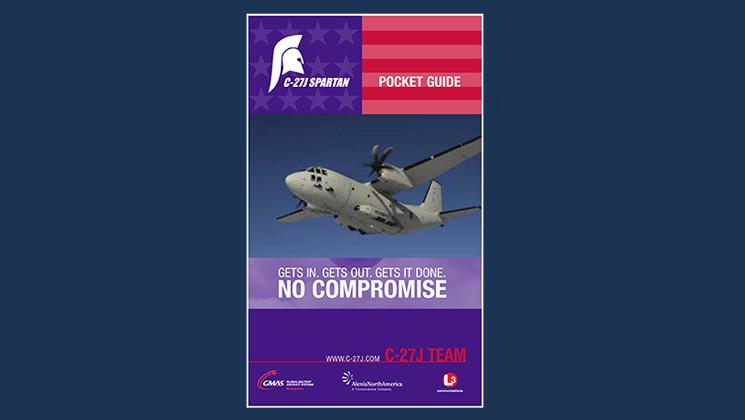 C-27J Pocket Guide (design) for Alenia, L-3 and GMAS