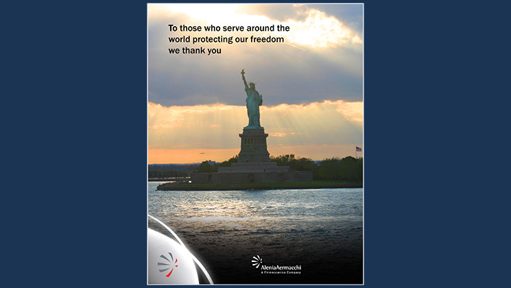 Veteran's Day ad for The Hill newspaper (print)