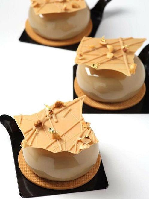 海鹽焦糖慕絲蛋糕 (24件) -迷你
