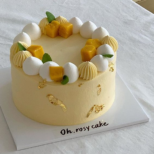 芒果慕絲蛋糕(2磅)
