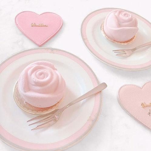 荔枝玫瑰慕絲蛋糕 (10件)