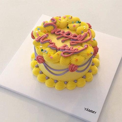 熱情果慕絲懷舊蛋糕(2磅)