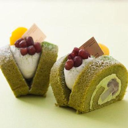 抹茶雪芳蛋糕 (10件)