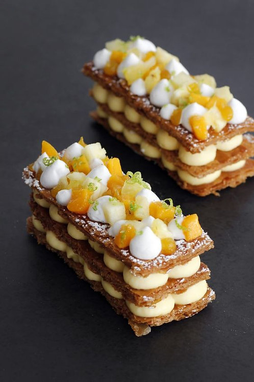 芒果拿破崙蛋糕 (10件)