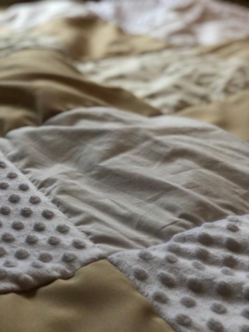 Babysdecke 140x140 cm, Anordnung nach Wunsch