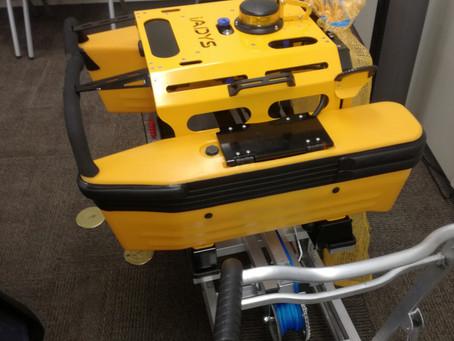 海洋浮遊ごみ回収ロボット