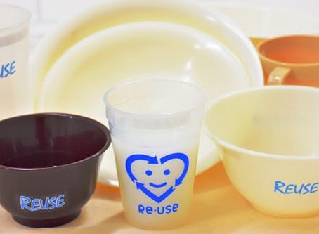 【リユースの話③】リユース食器ってどんな食器?