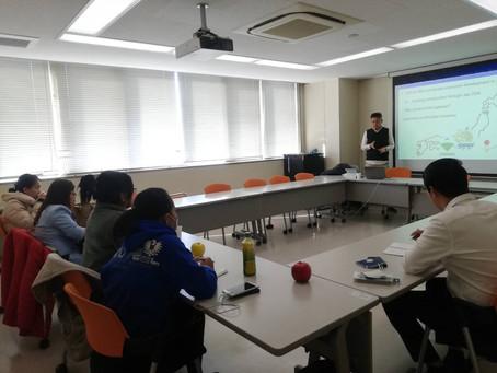 名古屋大学で留学生にSDGsと環境問題について講義しました