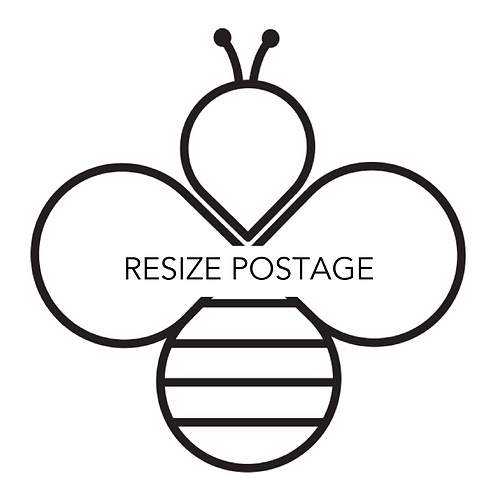 Resize postage (UK Special Delivery)