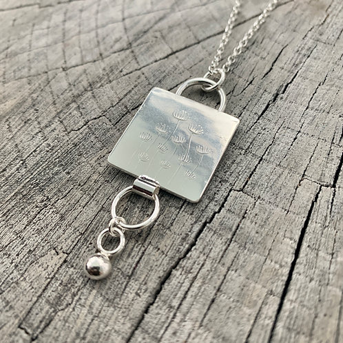 'Cowslip' Sterling silver necklace