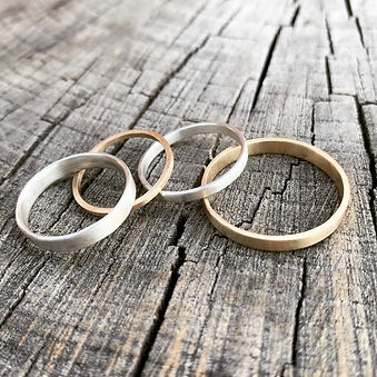 Handmade wedding bands London