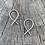 Thumbnail: 'Double crossed' earrings