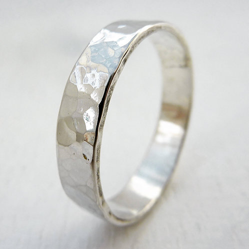 Sterling silver band - 5mm wide