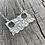 Thumbnail: 'Pac man' Sterling silver necklace