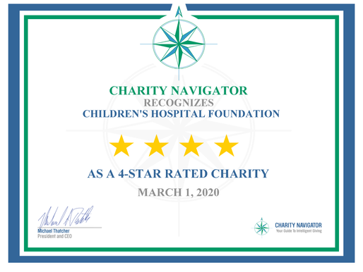 CHF Receives Seventh Consecutive 4-Star Rating from Charity Navigator