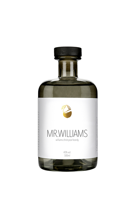Mr. Williams - finest williams pear brandy