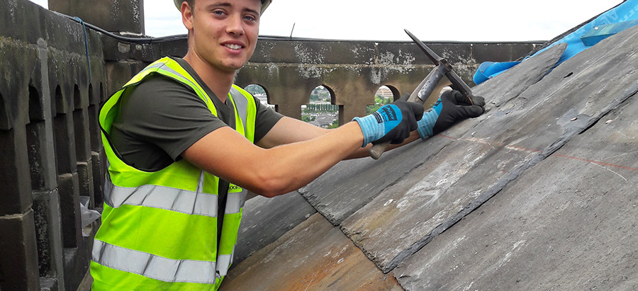 MARTIN-BROOKS ROOFER MAKES FINALS OF TRAINING AWARD