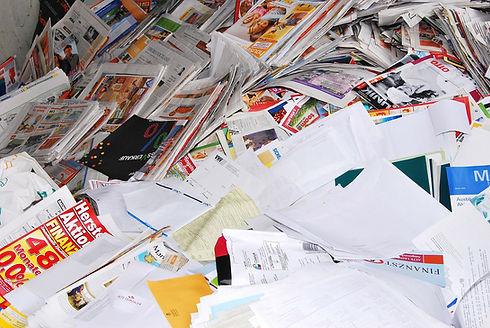le recyclage du papier
