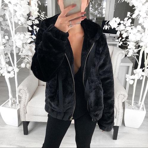 BEAR JACKET in Black