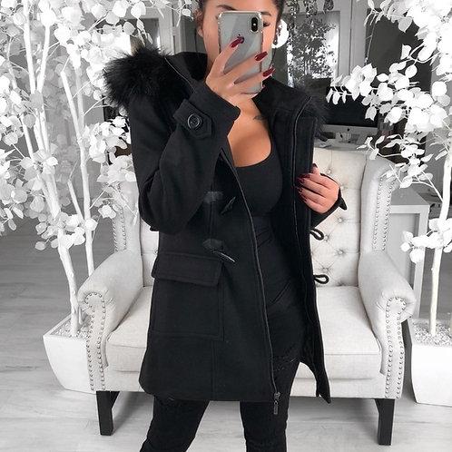BACK OFF in Black