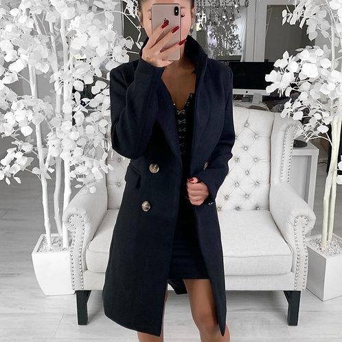 VICTORIA COAT in Black