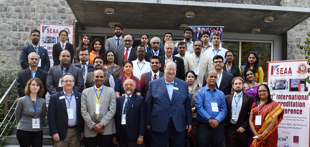 A section of the attendees and presenters at the  11th International Accreditation Conference
