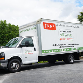 Complimentary Moving Truck Use