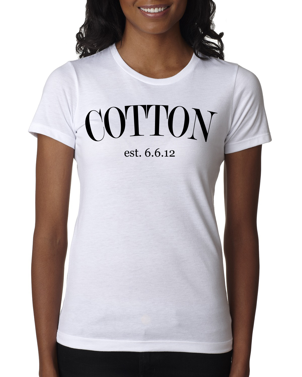 New  Female blk wht  Cotton