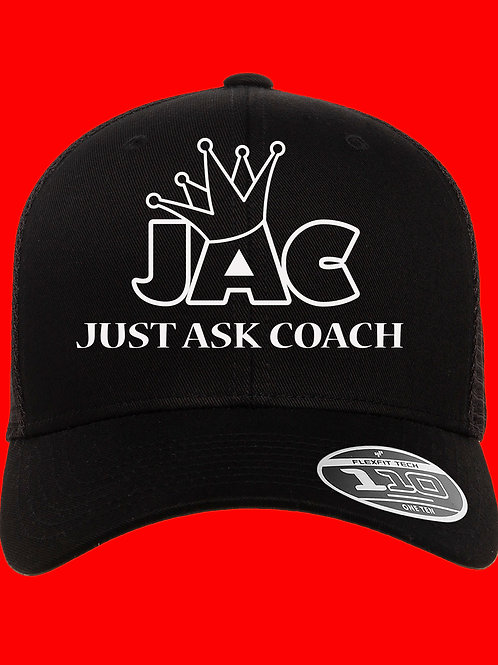 Just Ask Coach Baseball Cap
