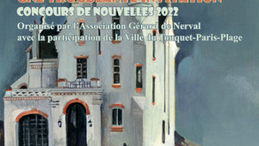 Lancement du prix Gérard de Nerval de la nouvelle 2022