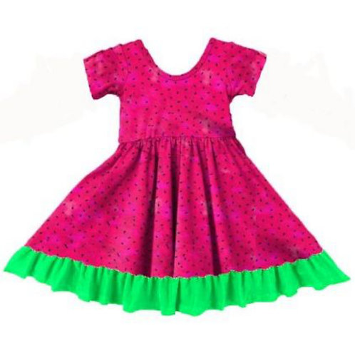 LoveTinyToes Watermelon Dress