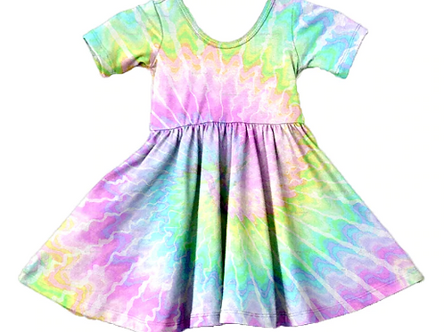 LoveTinyToes Tie Dye Rainbow