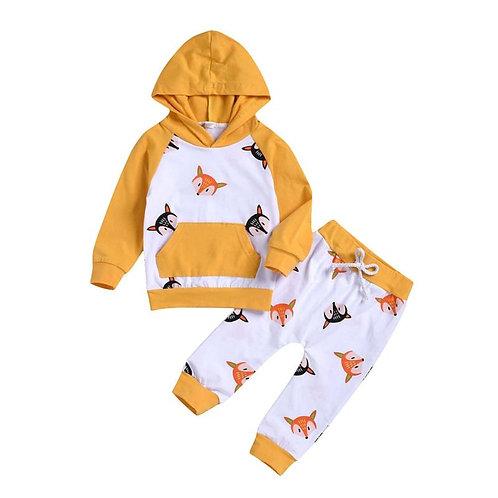 Feelin' Foxy Hoodie Set