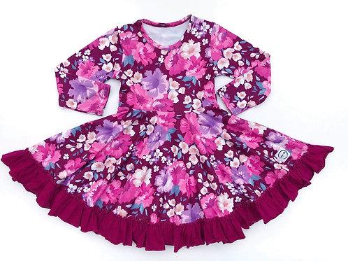 Just for Littles Magenta Floral