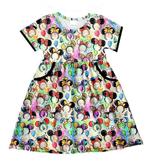 Ears Pocket Dress