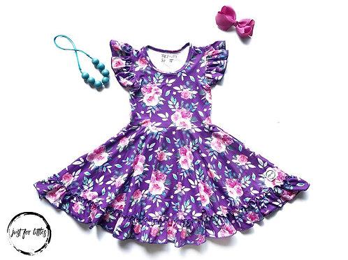 Just for Littles Violet Floral