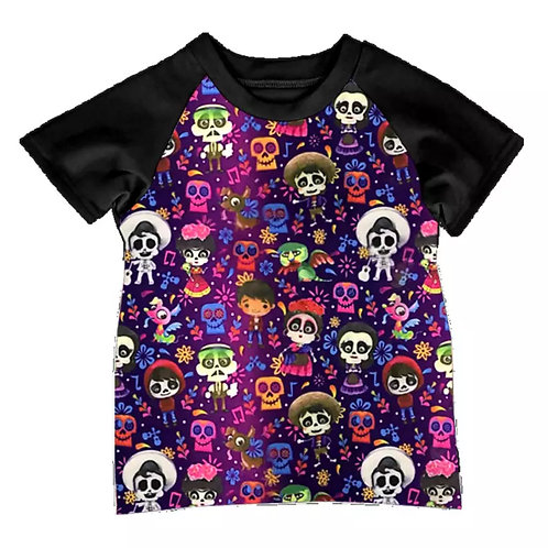 LoveTinyToes Day of the Dead Tee