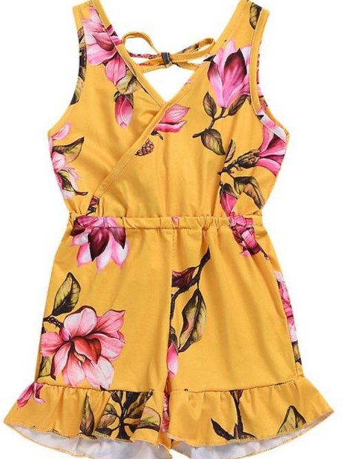 LoveTinyToes Floral Rompers