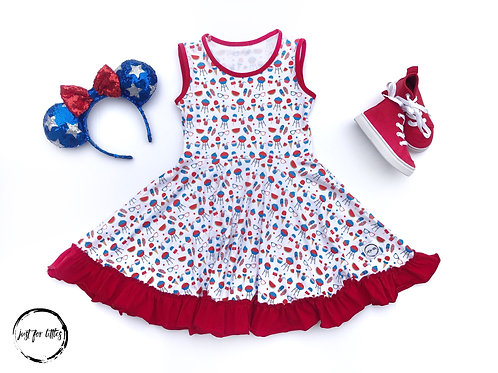 Just for Littles Red, White & BBQ