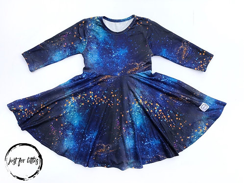 Just for Littles Galaxy 3/4 Sleeve