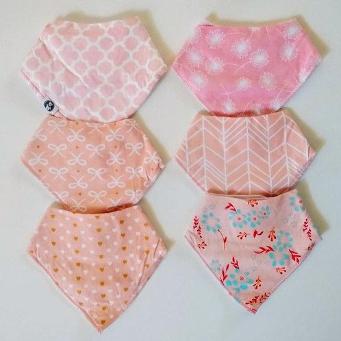 Bandana Bibs - Pretty in Pink