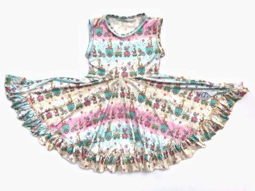 Just for Littles Animal Party Train Dress