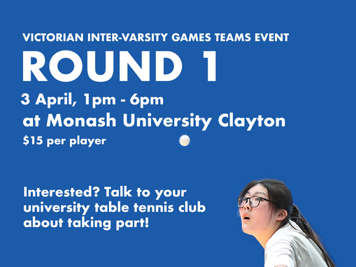 [VIGs Monash Tournament Try-Outs]