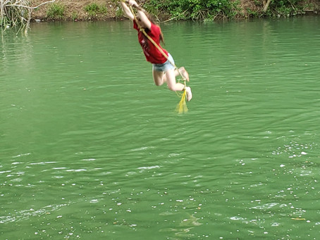 Day 5 part 1- Rope swing!