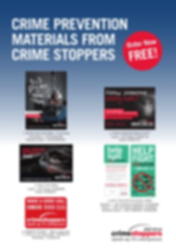 Crimestoppers NZ | Promotional Material