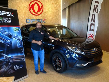 Manuel Campos, piloto off-road y organizador del Campeonato Extreme 4x4 visita DFSK Málaga